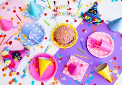 Konfettirør til festlige anledninger - og mere